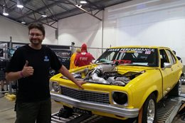 Jade Edwards 2000hp Torana Summernats 2015