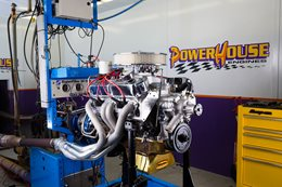 Dodge Dart Project Swinger engine dyno