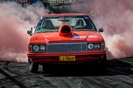 LITMUP HZ Summernats burnout