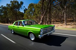 Green ZD Fairlane Scott Rowell