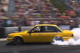 Summernats burnout qualifying