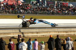 Lamattina Top Fuel crash Winternationals