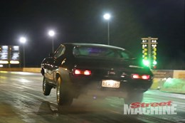 Nitrous backfire XA Ford coupe
