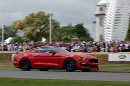 Ford Mustang Shelby GT350R at Goodwood