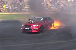 When burnouts go wrong