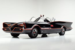 Once again the iconic Batmobile is expected to fetch silly money