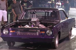 Aussie tuner Dale Heiler works his magic on the Street Outlaws Dominator Dodge Dart