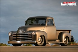 Icon gives the '53 Chev pick-up new bones and organs to create one epic pro-tourer