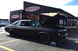 Robert Zahabi's Chevy Nova makes the Top-20 at the Goodguys Street Machine of the Year.