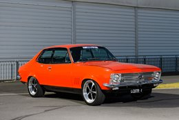 Robert's LC Torana GT-R was once a wild hill climb monster, now it's a tough resto-mod streeter