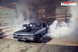 Danny Younis' mental street-driven Ford Capri packs 383-cubes of blown Chevy V8