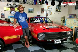 Barry Featherstone's shed houses an amazing Ford collection