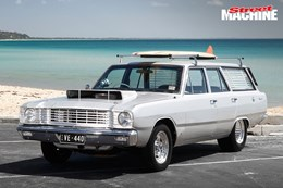 Big block-powered VE Valiant