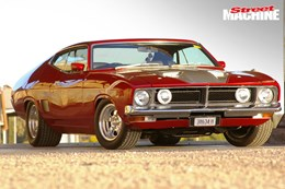 Anthony Thomas's Ford XB Fairmont coupe