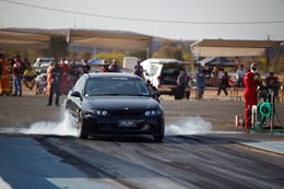 Red CentreNATS drag racing
