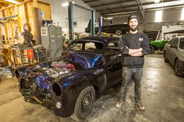 IN THE BUILD: CHOPPED FX HOLDEN