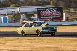 HT Holden drag car