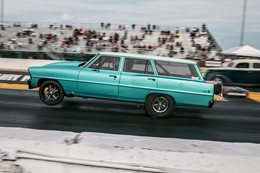 Chevrolet Nova Wagon at Drag Week