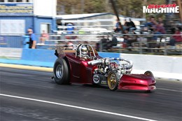 2JZ Dragster at Six BangerNATS