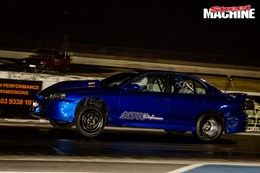 HSV VT Clubsport drag car