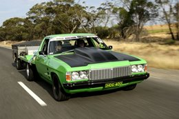 Holden One-tonner Drag Challenge