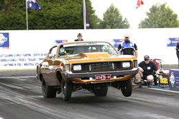 Valiant Charger Drag Challenge