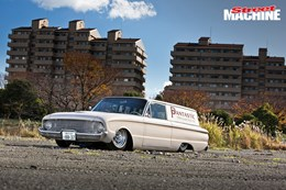 Ford Falcon delivery custom