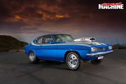 Ford Capri V8 drag car