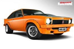 Holden LX Torana hatch project