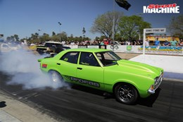 Ford Cortina drag car