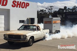 HQ Farm Ute burnout