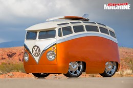 Ron Berry VW Kombi custom