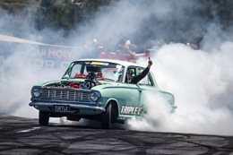 Turtle Summernats burnout
