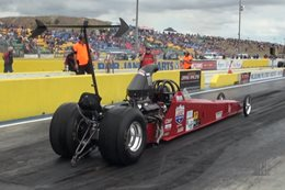 Competition Eliminator dragster