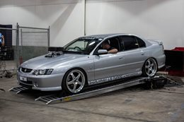 Holden VY Commodore SS dyno