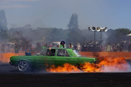 BLOKY Valiant Burnout Fire