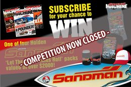 Subscribe to Street Machine and you could win an Holden Sandman prize pack