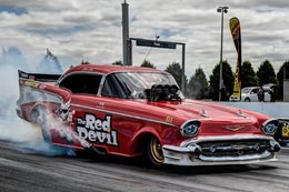Red Devil Nitro Funny Car
