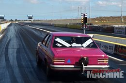DRAG CHALLENGE-WINNING TORANA SHOOTS FOR SEVENS