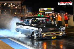 Jeff Lutz Evil Twin 57 Chev