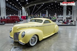 Detroit Autorama Mercury custom