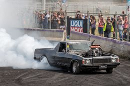 HQ Holden ute burnout IMMORTAL