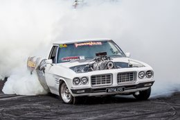 Ricky Muir burnout car ride