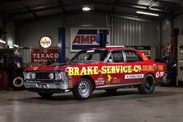 EX-ORMSBY XW FALCON DRAG CAR