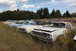 Chrysler Valiant Utes rusty cars