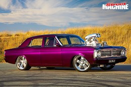 Ford XY GT Falcon blown