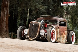 36 Ford Rat Rod pick up