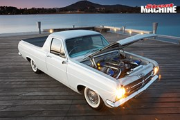 HR Holden ute twin turbo