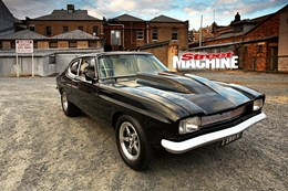 SEVEN-SECOND FORD CAPRI WITH TURBO SMALL-BLOCK