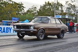 EIGHT-SECOND TURBO HOLDEN LJ TORANA